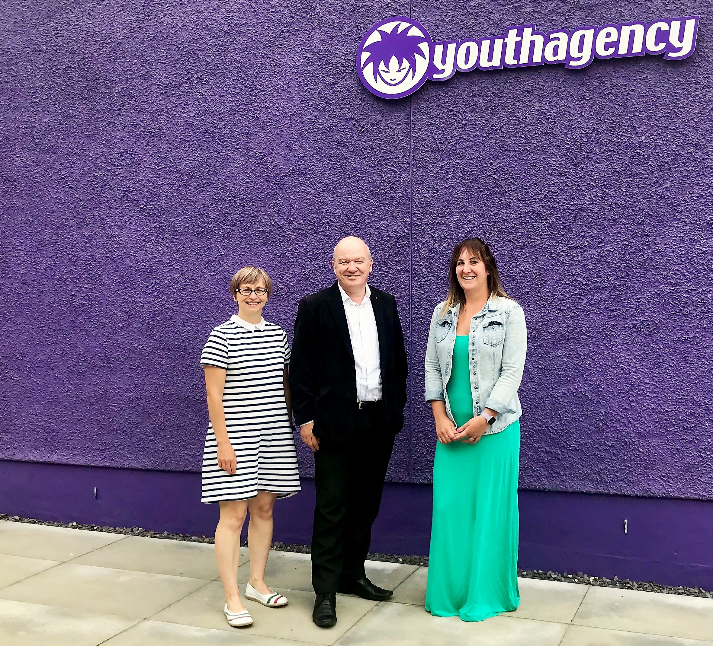 Visiting the local Youth Agency