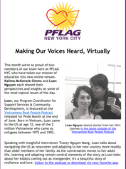 Episode #21 featured on PFLAG