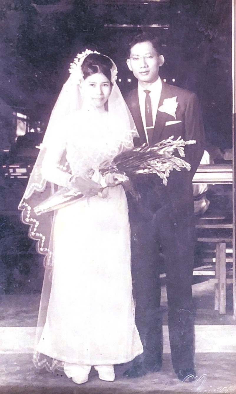My parents on their wedding day