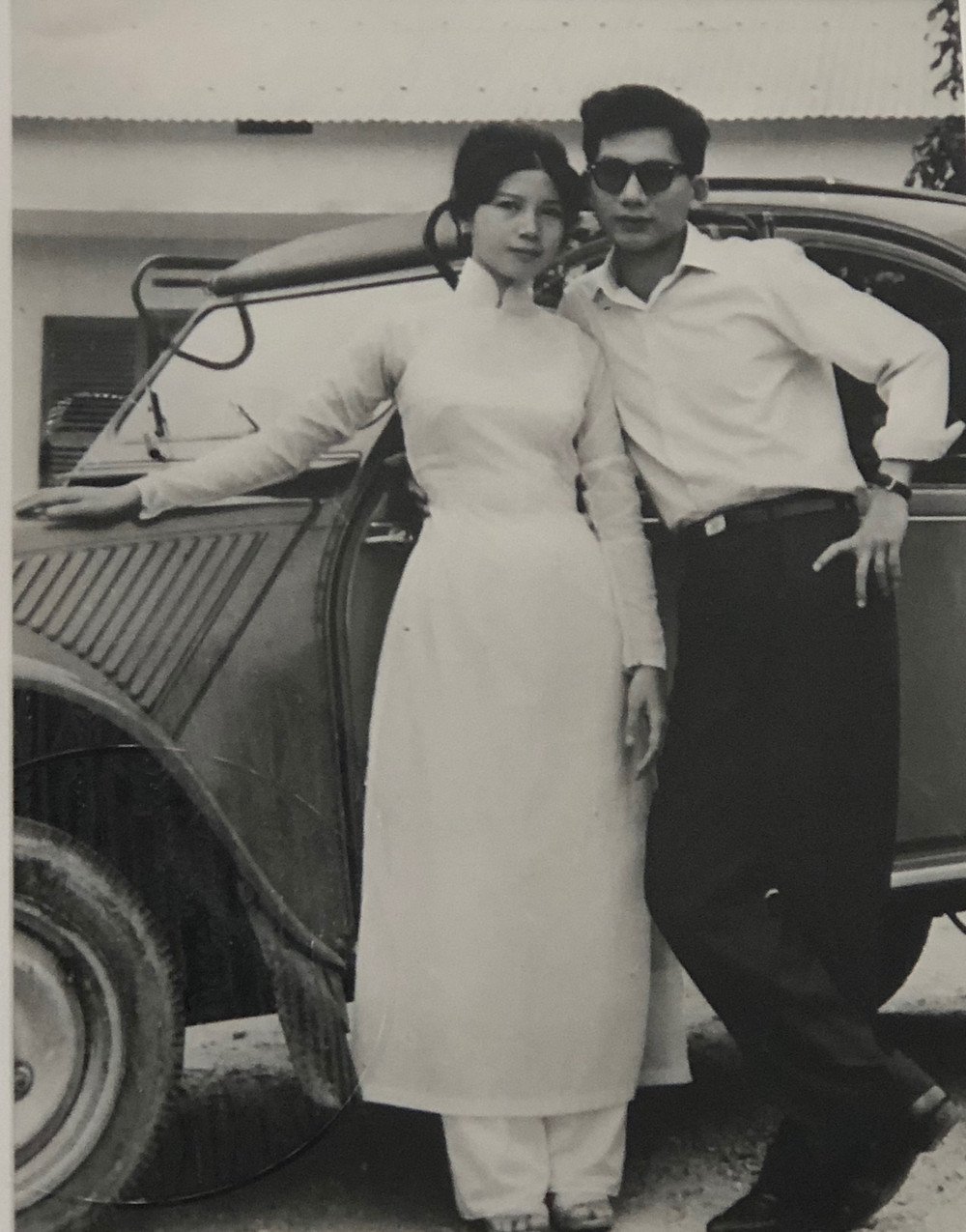 this is my mom and dad in the early years