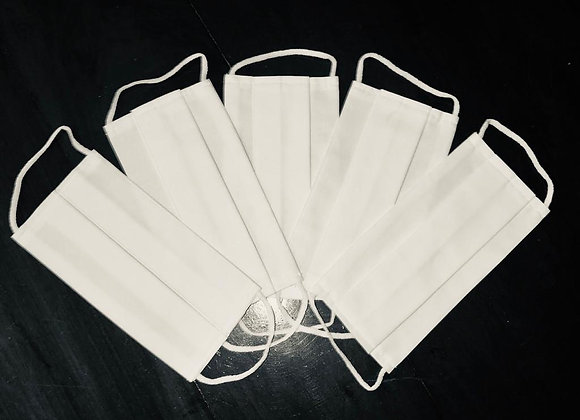 Kit 5 Máscaras Básicas