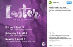 Easter 2015 Instagram Ad