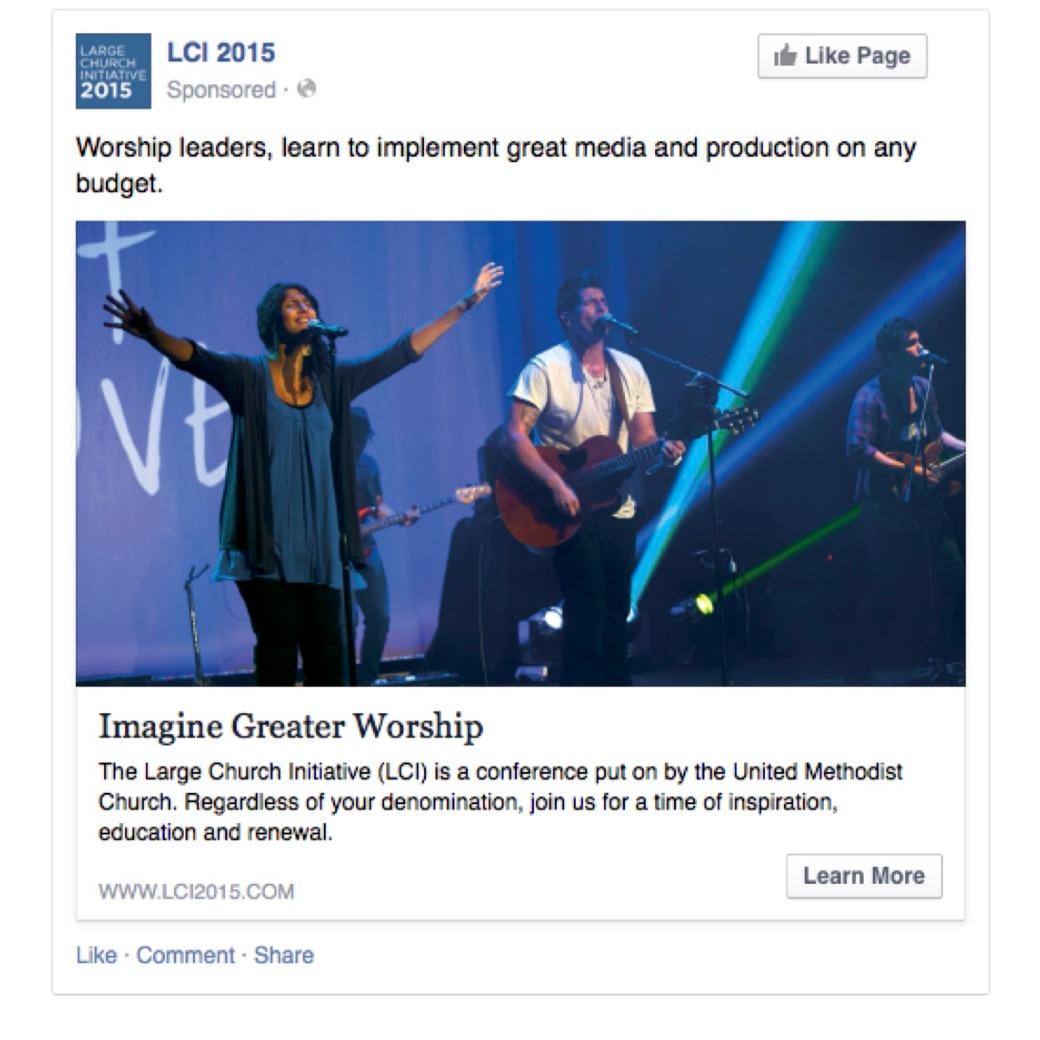 LCI Facebook Ad