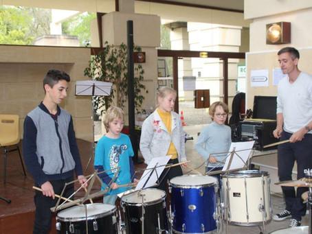 L'école de musique était de sortie !