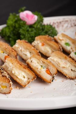 西式蟹肉多士 (2件起)