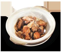 瓦煲蜆芥雞