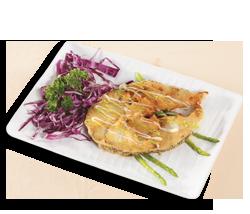 日式煎鱈魚