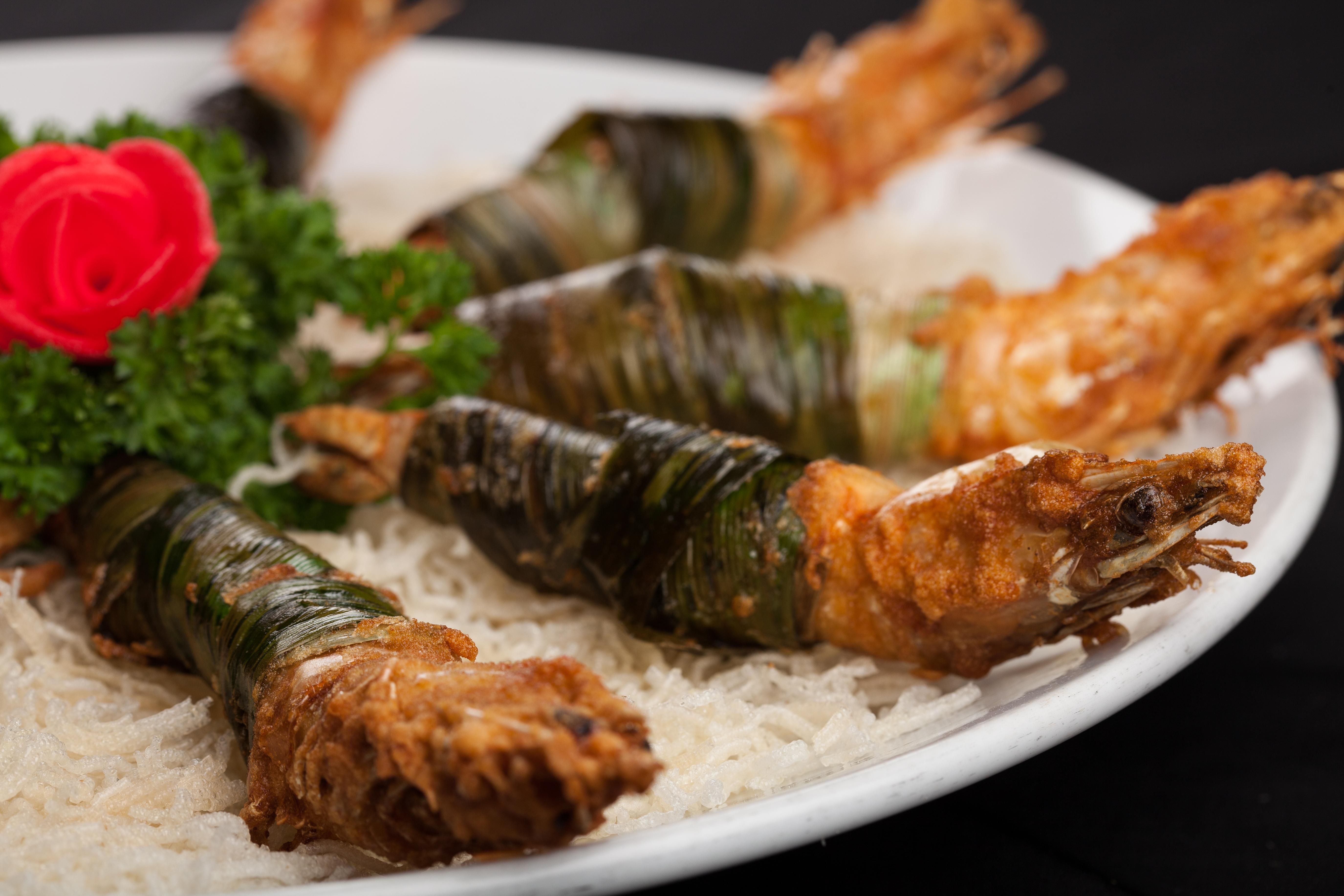 泰式烧烤斑兰明虾 (8只起)