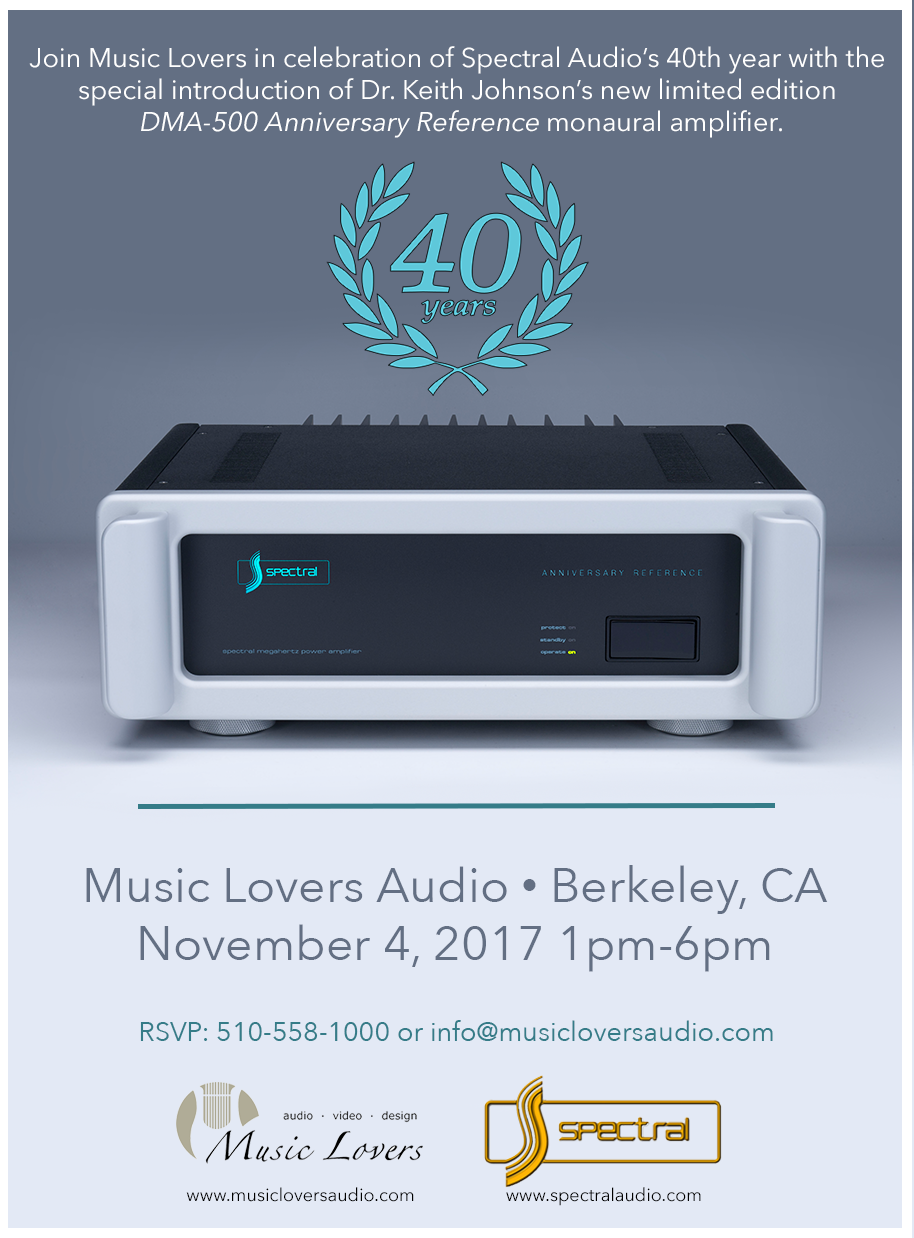 Spectral Audio DMA-500 Anniversary Reference