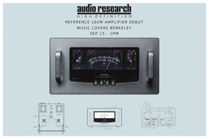 Music Lovers Audio - Audio Research Event 9-15