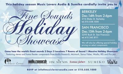 Holiday Showcase - Dec 14th & 15th