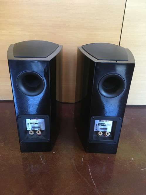 Revel Performa3 Bookshelf Loudspeakers Are True Full Range That Feature Small Footprints And Sleek Designs Allowing Them To Blend In Easily