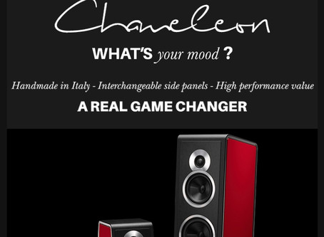 The Sonus Faber Chameleon has arrived in SF & Berkeley
