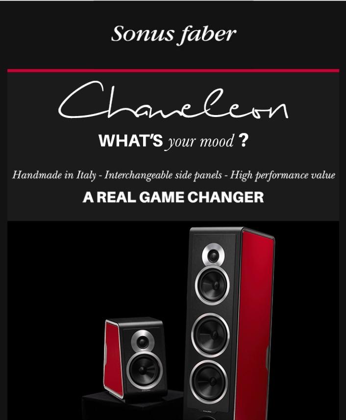 Sonus faber Chameleon Announcement