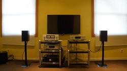 Demo room in Music Lovers Berkeley