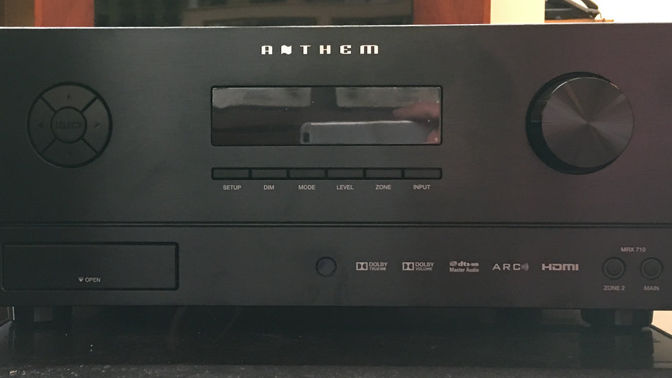 Anthem MRX 710 with Remote Control