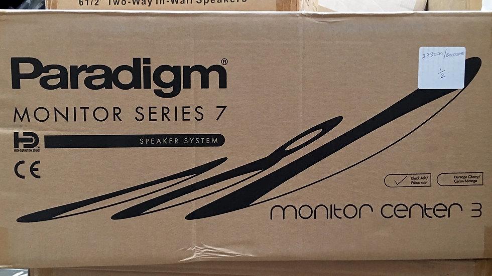 Paradigm Center 3 Series 7