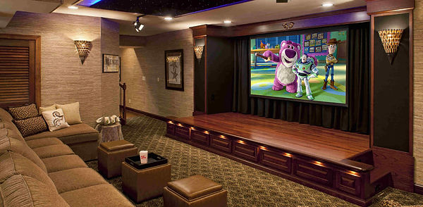 Music Lovers provides custom installation for home theaters in Alamo.