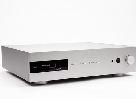 Brief overview of the new dCS Bartók DAC & Headphone Amp
