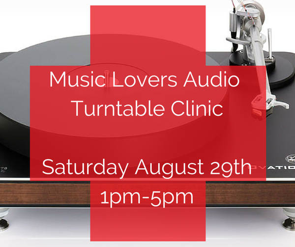 Music Lovers Turntable Clinic