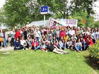 WWKIPDAY                                                 Dia Mundial Tricotar em Público