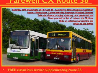 Farewell CX Route 38-Update
