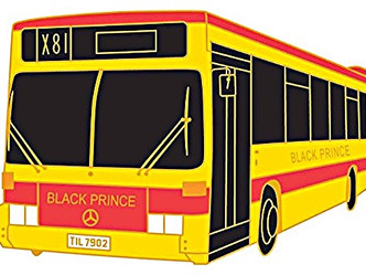 Pin a miniature Black Prince bus to your coat or tie-our fantastic new badge collection is here!