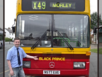 577 Re-Emerges in red and yellow, with one very proud owner!.