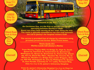 FREE Christmas Day Bus Service-X51