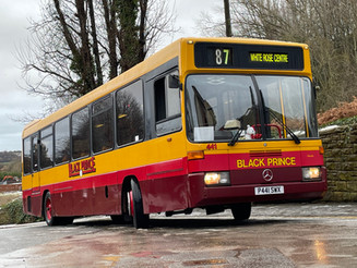 A look back at Black Prince buses through 2020 ...