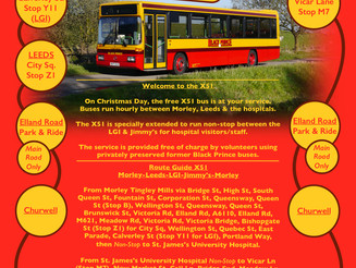 It's all systems GO for Black Prince festive bus services in West Yorkshire!