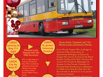 "Have a ""Red and Yellow"" Christmas, with a Black Prince bus trip on Christmas Day 2015. &qu"