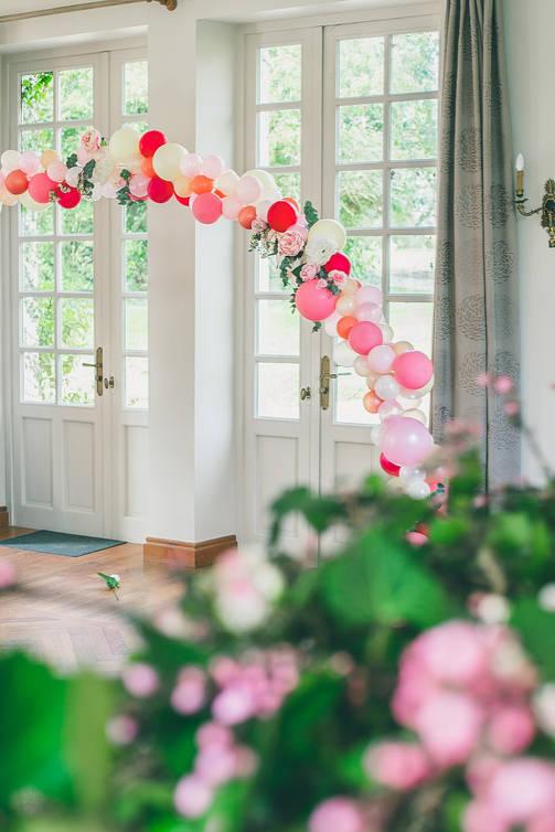arche de ballons pour mariage