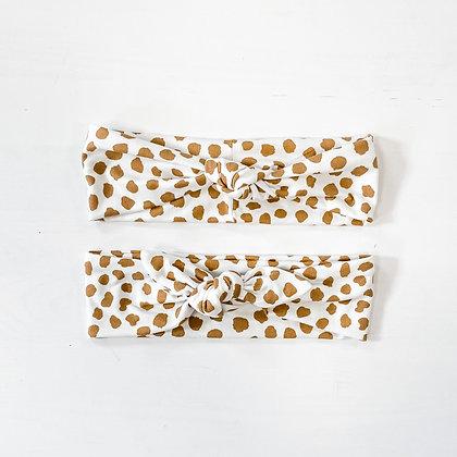 mocha cream | headband