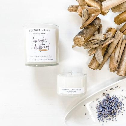 lavender + driftwood