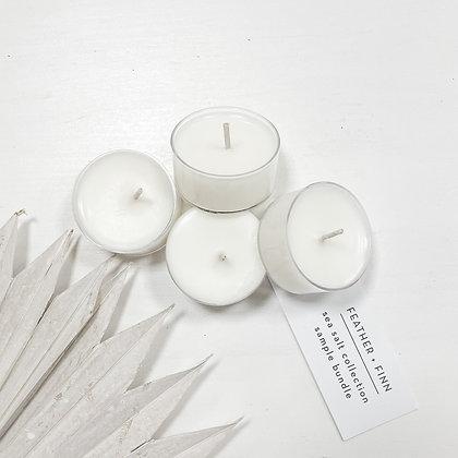 sea salt collection tealight bundle