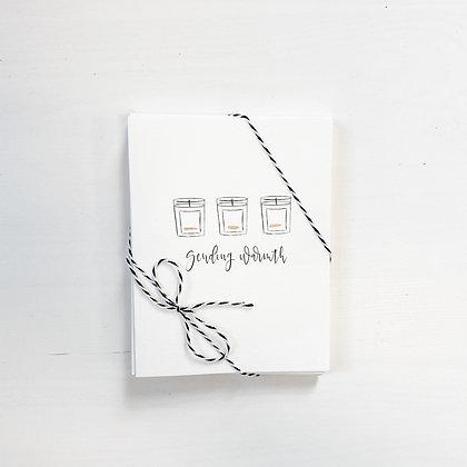 sending warmth | greeting cards