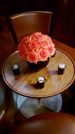 centre de table fleuriste