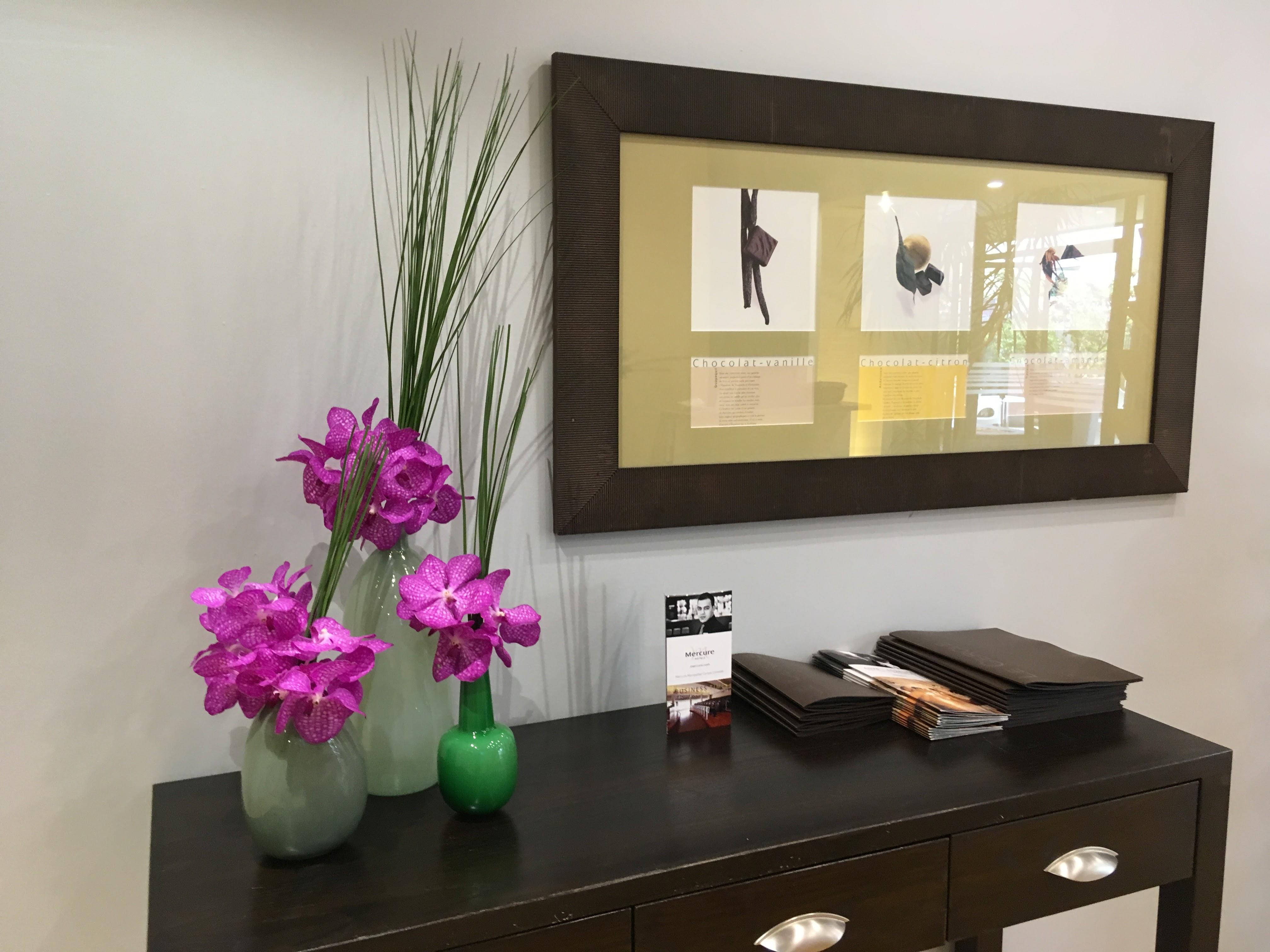 fleurs accueil hotel