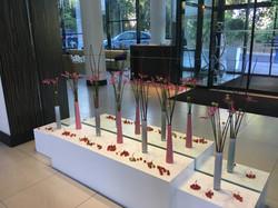 design d'espace floral