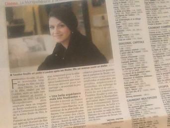 Article de presse sur Midi Libre