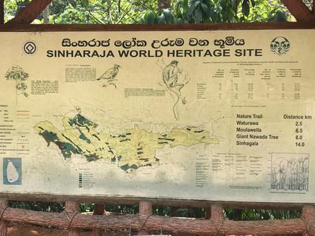 Singharaja Forest Reserve Landscape Management Plan