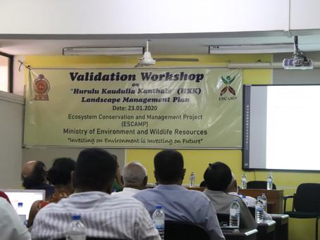 Hurulu-Kawdulla-Kantale (HKK) Landscape Management Plan