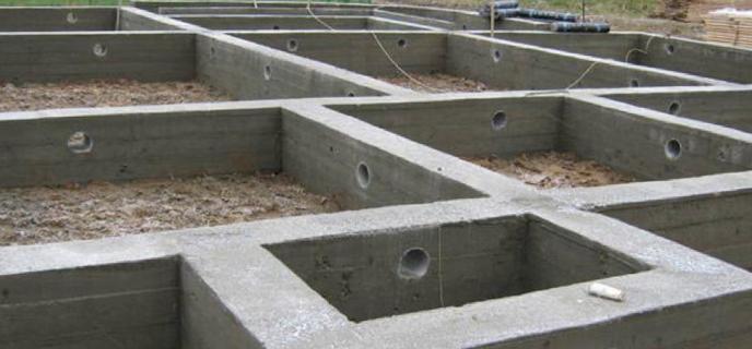 Фундамент двух этажного