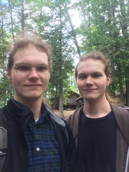 Julian and Isaac Ward