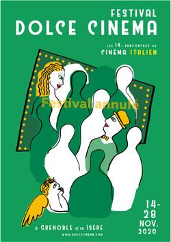 Festival Dolce Cinema 2020 - L'affiche