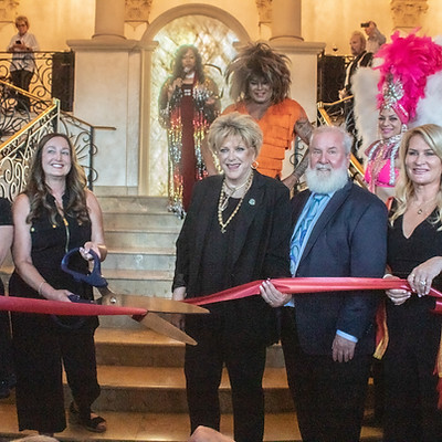 Ribbon Cutting Ceremony with Mayor Carolyn Goldman