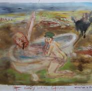 Churchill in the bath - Gallipoli 1915  2018