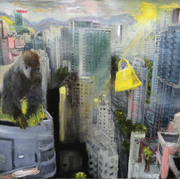 king Kong on Hong Kong with Yellow Herme