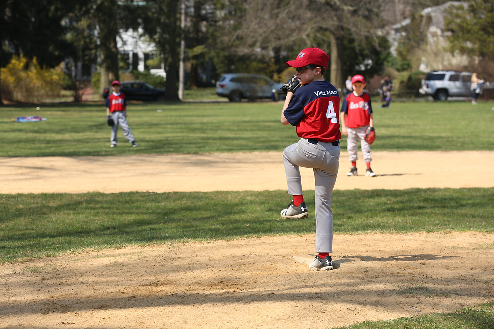 Junior Boys Opening Day Pitching